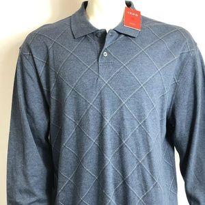 7c5497b1 Izod Sweaters | Luxury Sport Mens Long Sleeve Polo Shirt | Poshmark